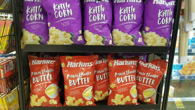 Harkins popcorn