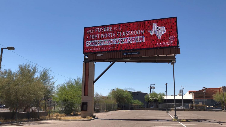Texas Teacher Poaching Billboard