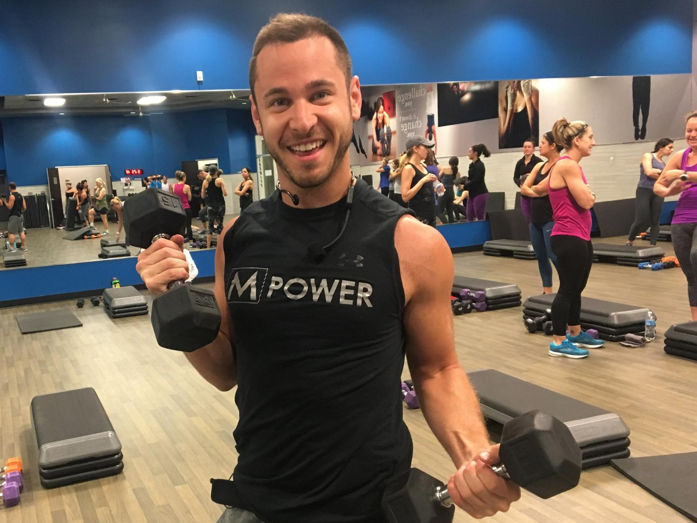 Benjamin Haynes at Mountainside Fitness