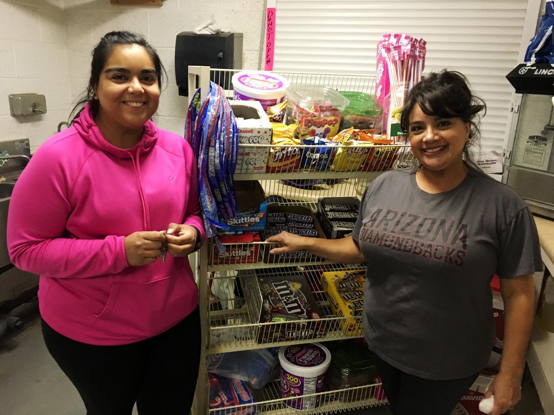 Sandra Rodriguez and Ashley Lopez
