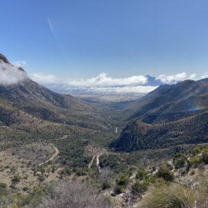 Huachuca mountain view