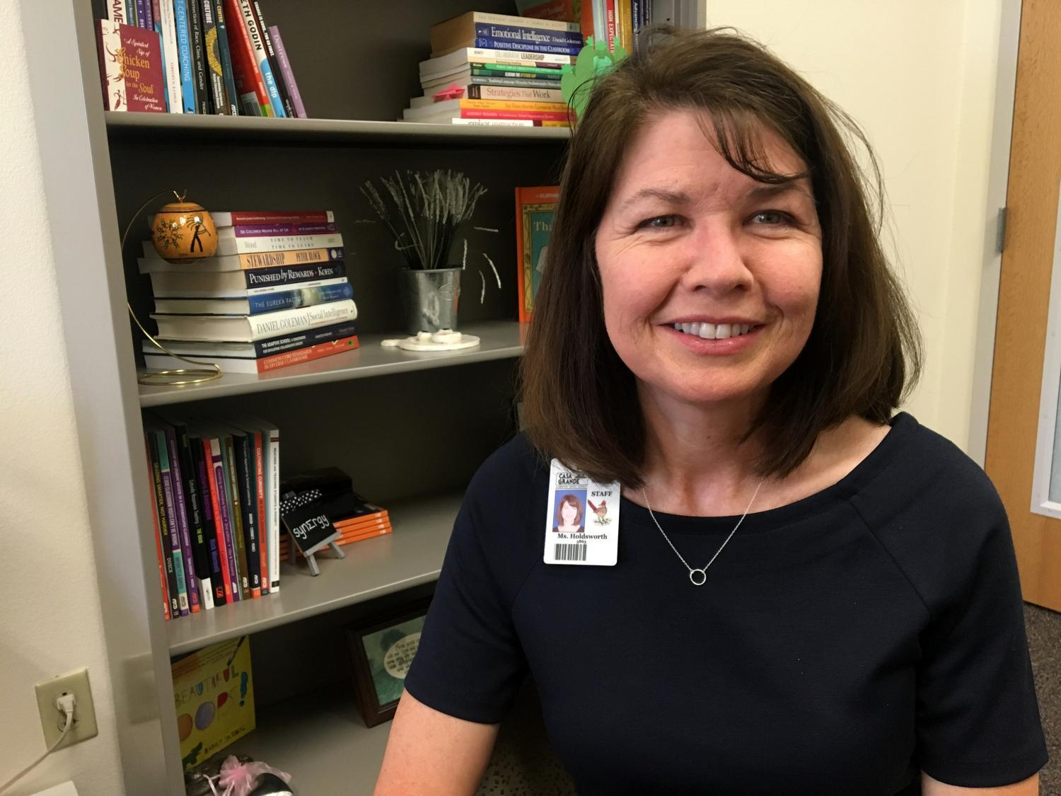 Mesquite Elementary Principal Julie Holdsworth
