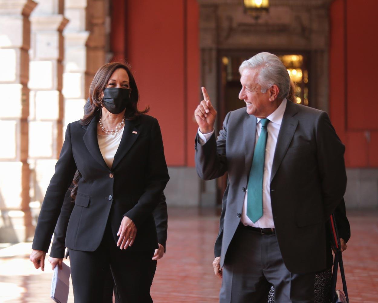 Vice President Kamala Harris and Mexico