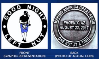 Phoenix Police challenge coins