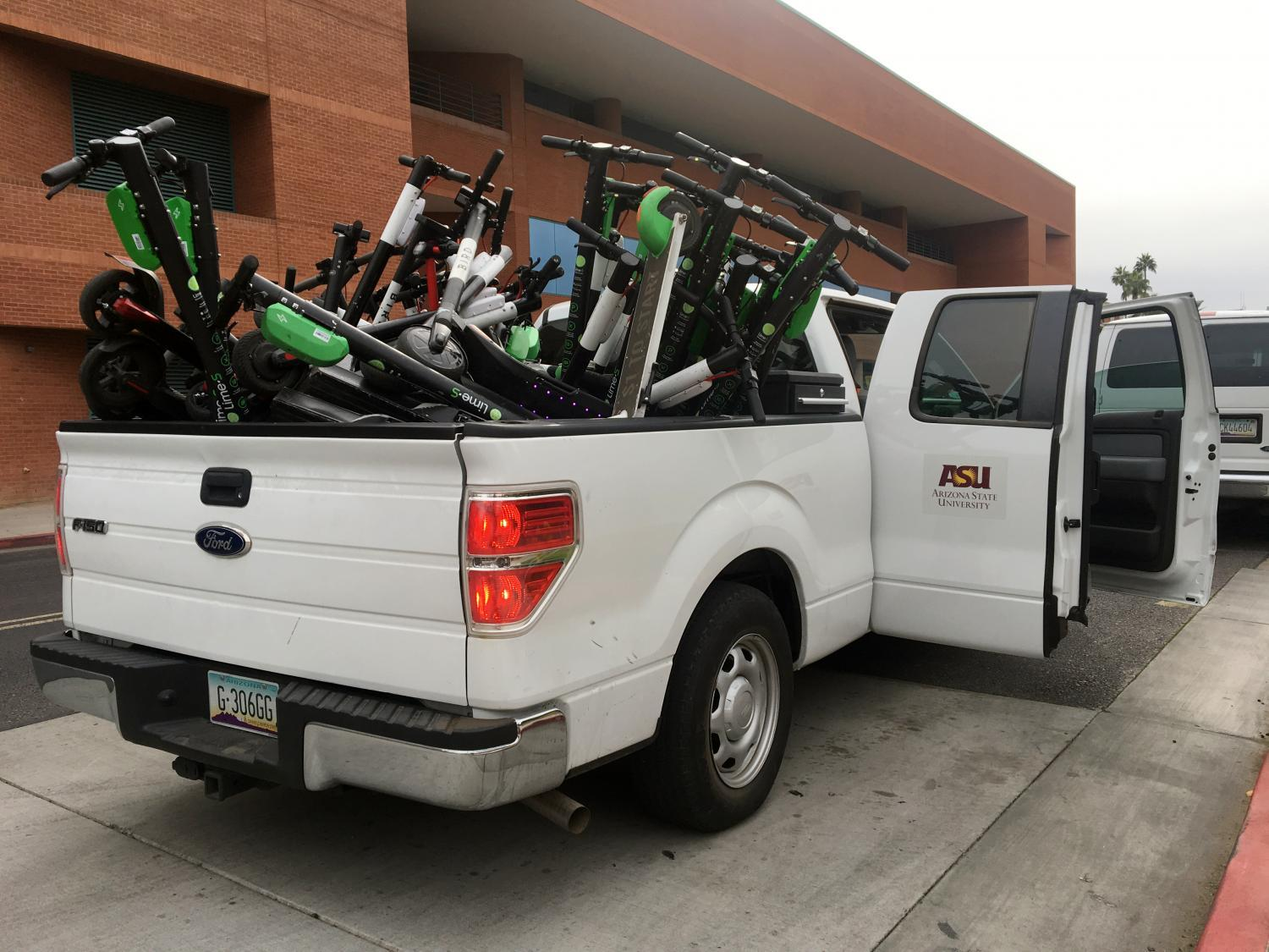 ASU impounded scooters