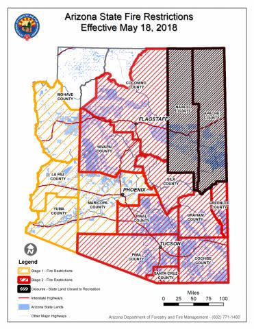 AZ fire restrictions