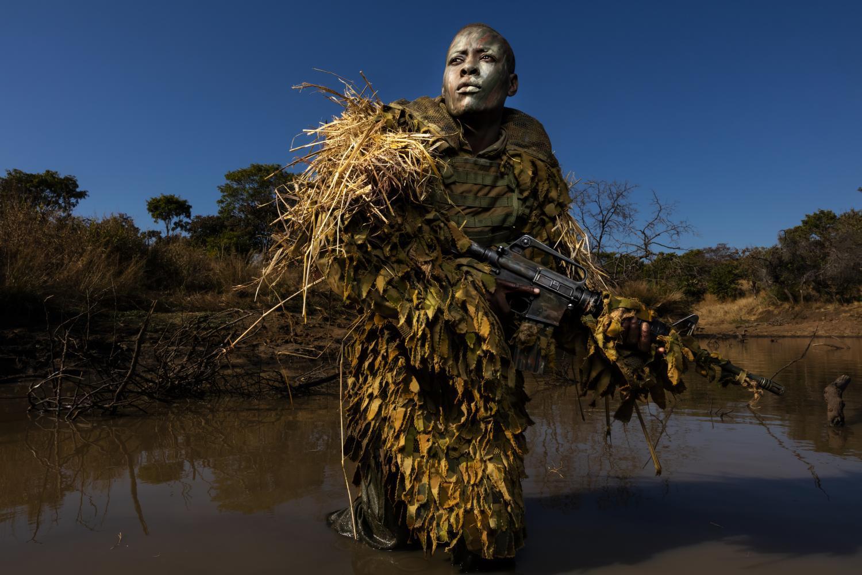 female conservation ranger