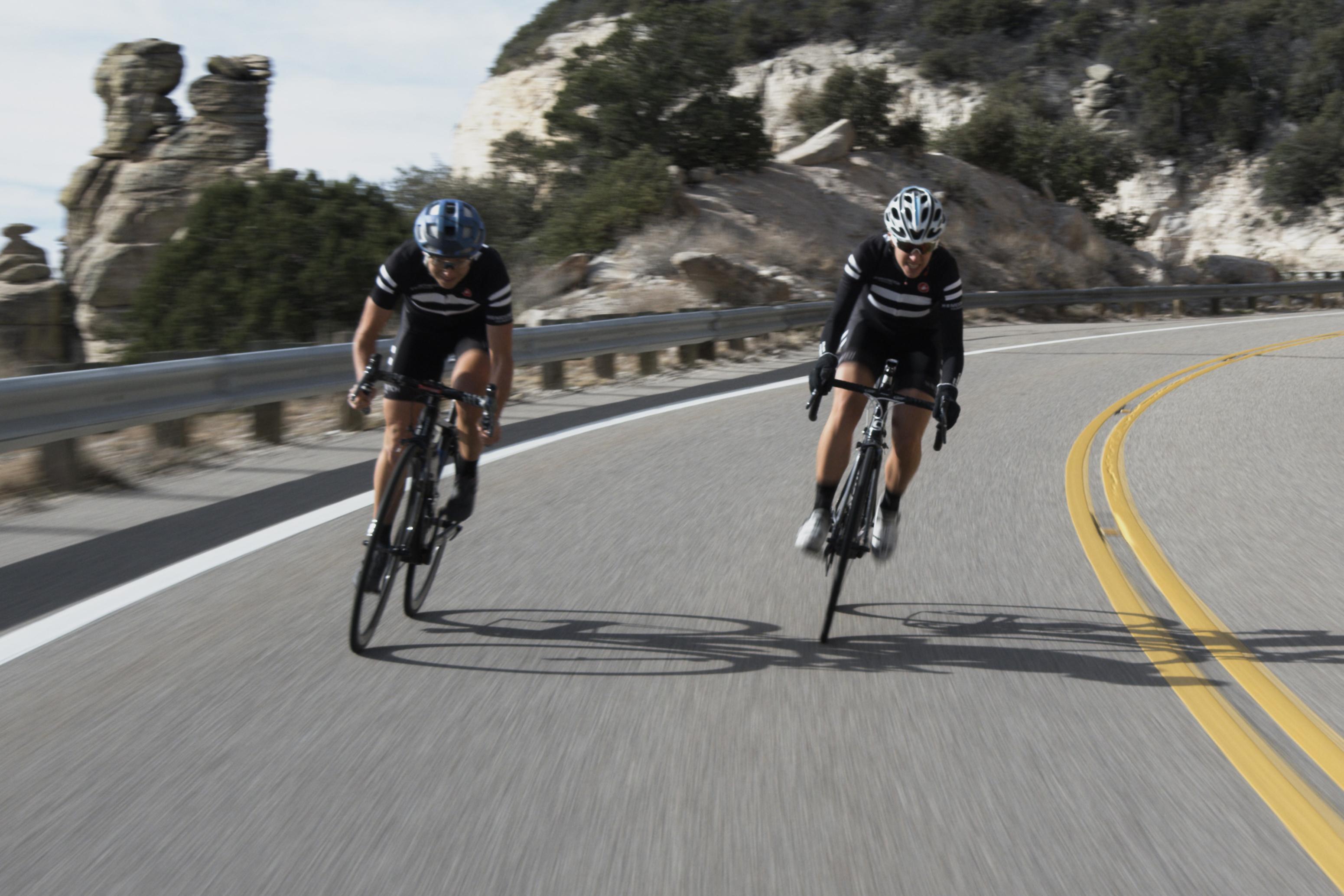 Kathryn Bertine cycling