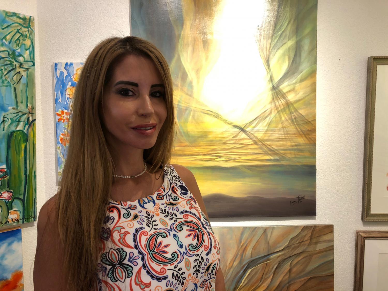 Artist Laura Thurbon