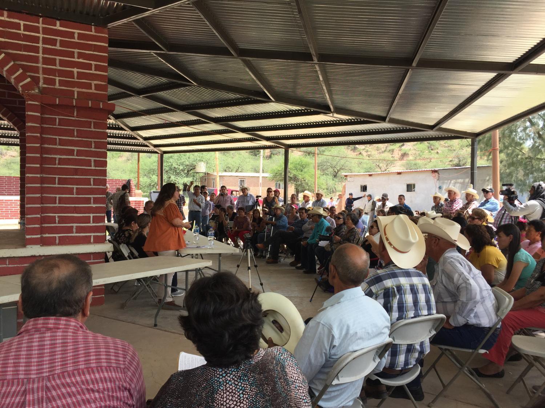 Mexican authorities meet in Bacanuchi