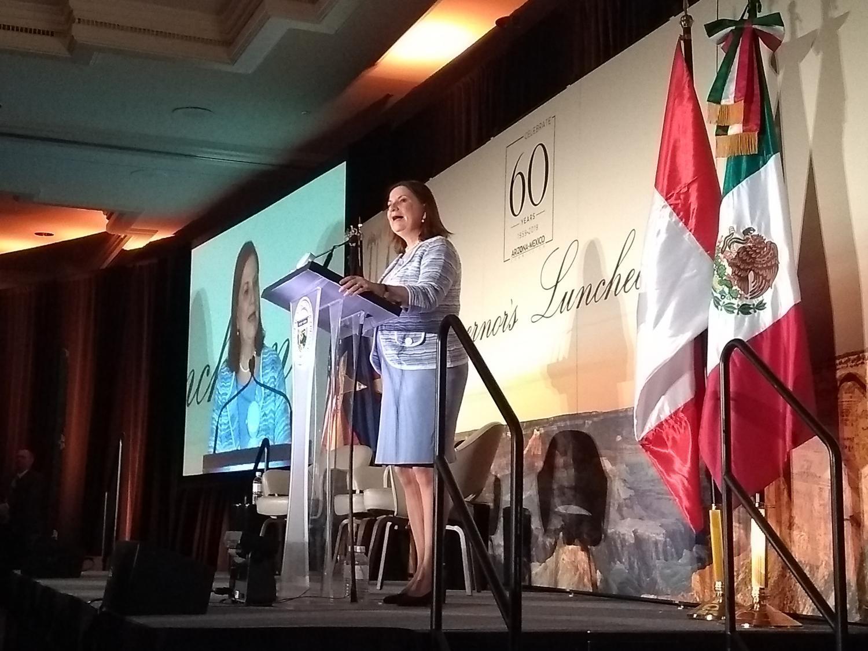 Ambassador Martha Bárcena