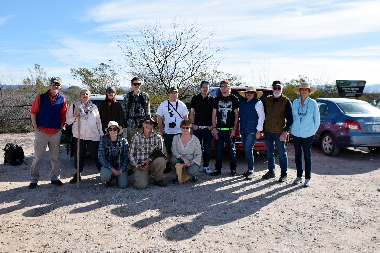 Murray Springs Border BioBlitz group