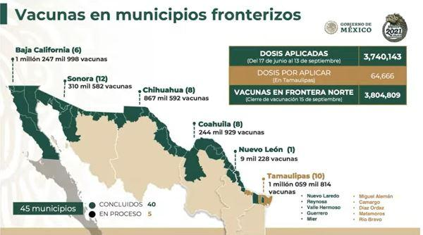 border vaccination map