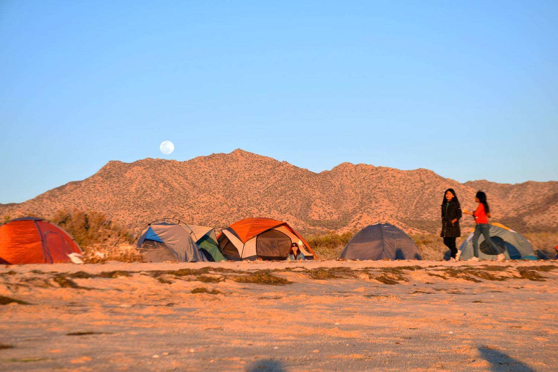 moon over encampment