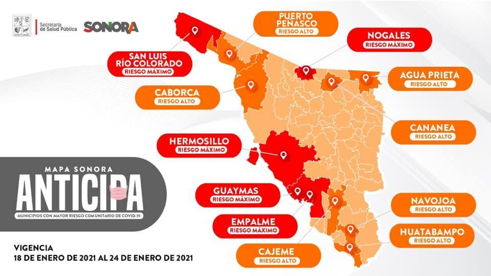 Sonoran Anticipa map