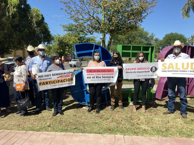Rio Sonora Watershed Committees protest