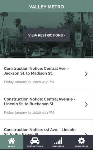 Construct VM App Page