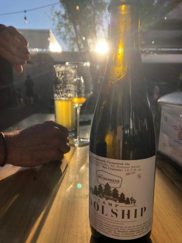 a bottle of Coolship beer