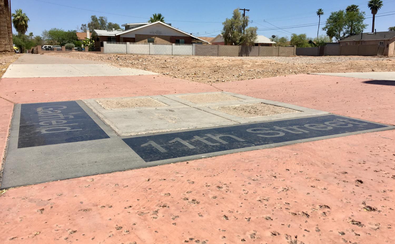 Corner of Garfield and 11th St Phoenix