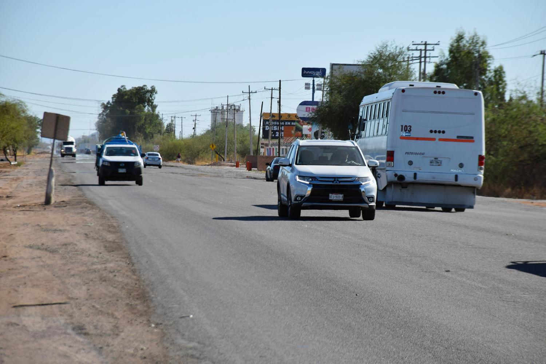 highway between Hermosillo and Kino Bay