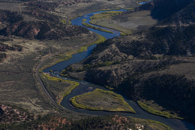 Colorado River in Colorado