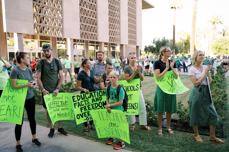 AZ Open Our Schools Rally