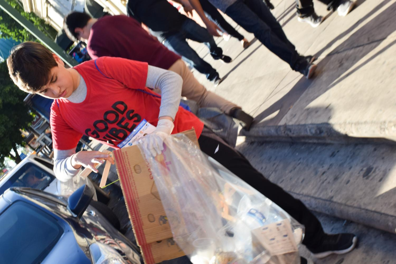 Plogger Hermosillo trash
