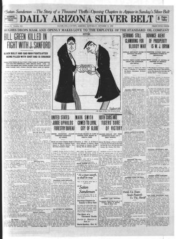 Daily AZ Silver Belt newspaper