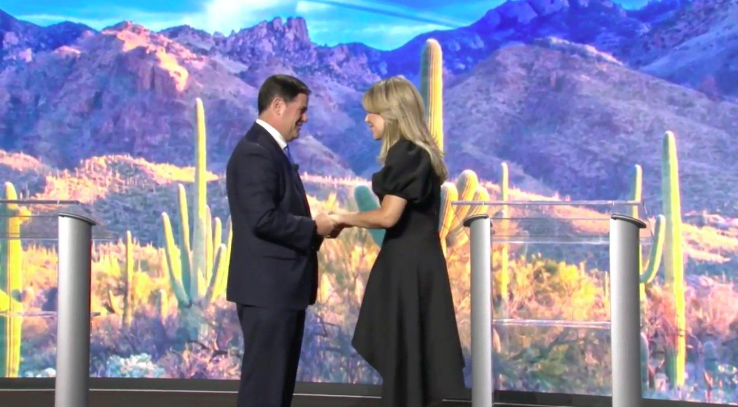 Governors Doug Ducey and Claudia Pavlovich