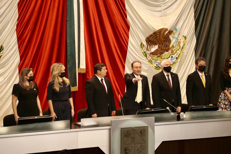 Alfonso Durazo sworn in