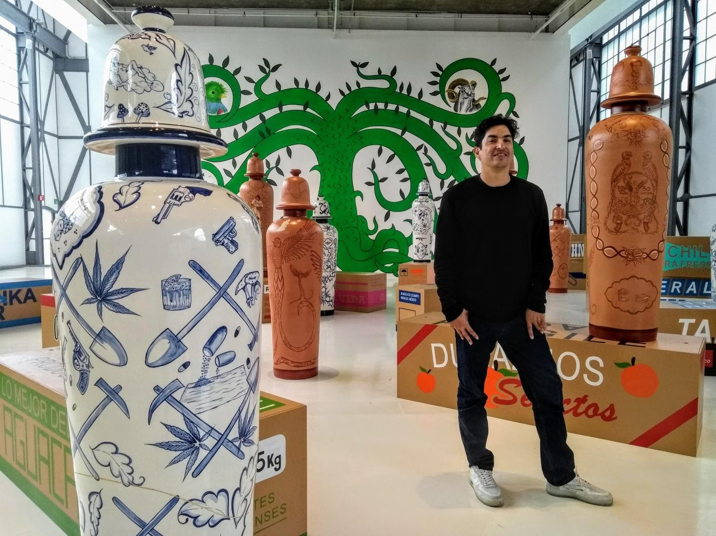 Artist Eduardo Sarabia