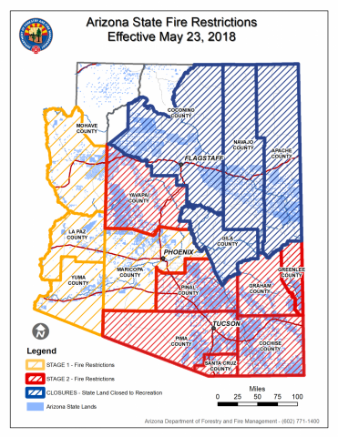forest closure map