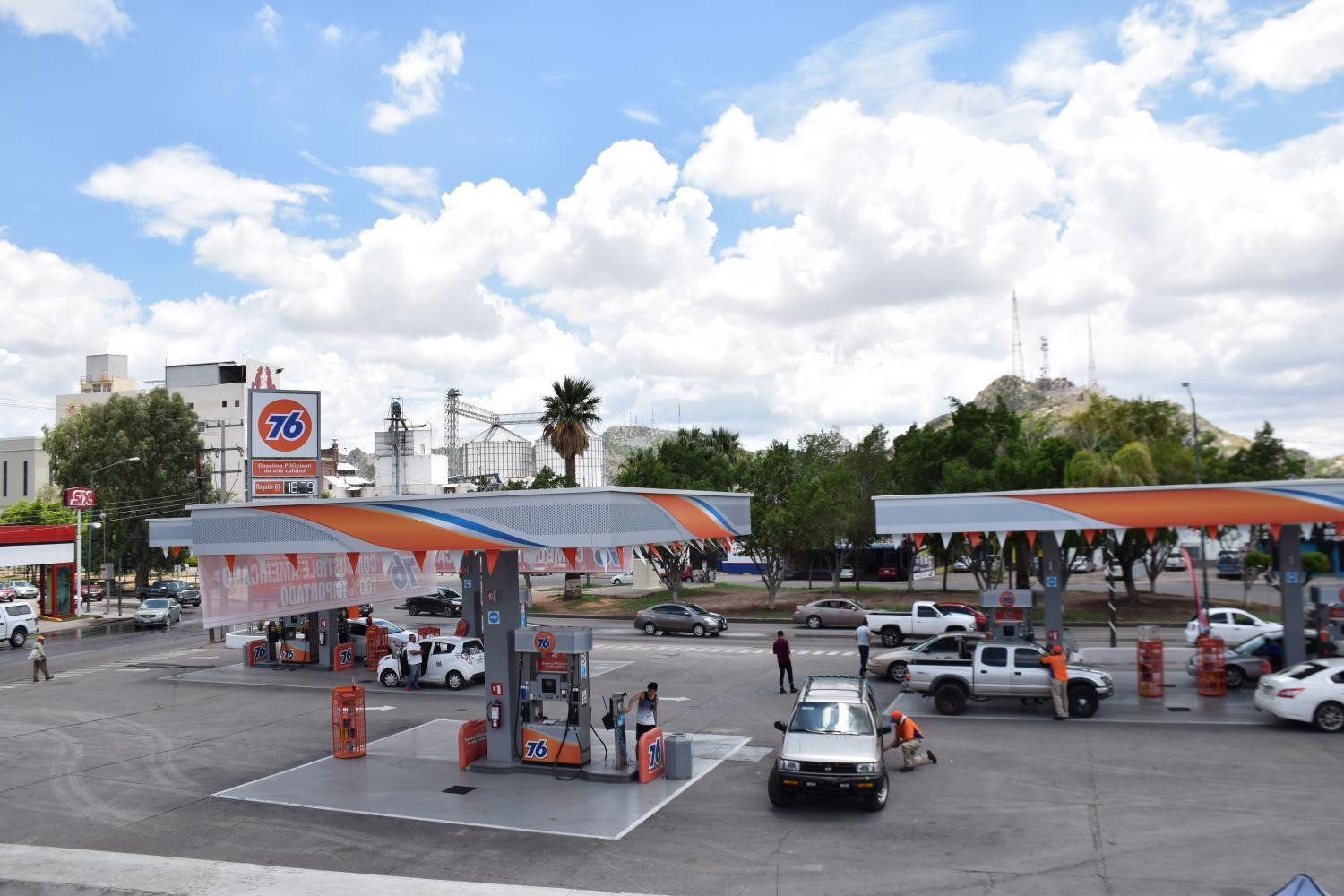 76 gas station in Hermosillo, Sonora