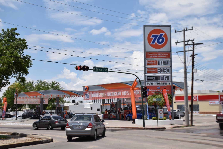 76 gas station in Hermosillo, Sonora