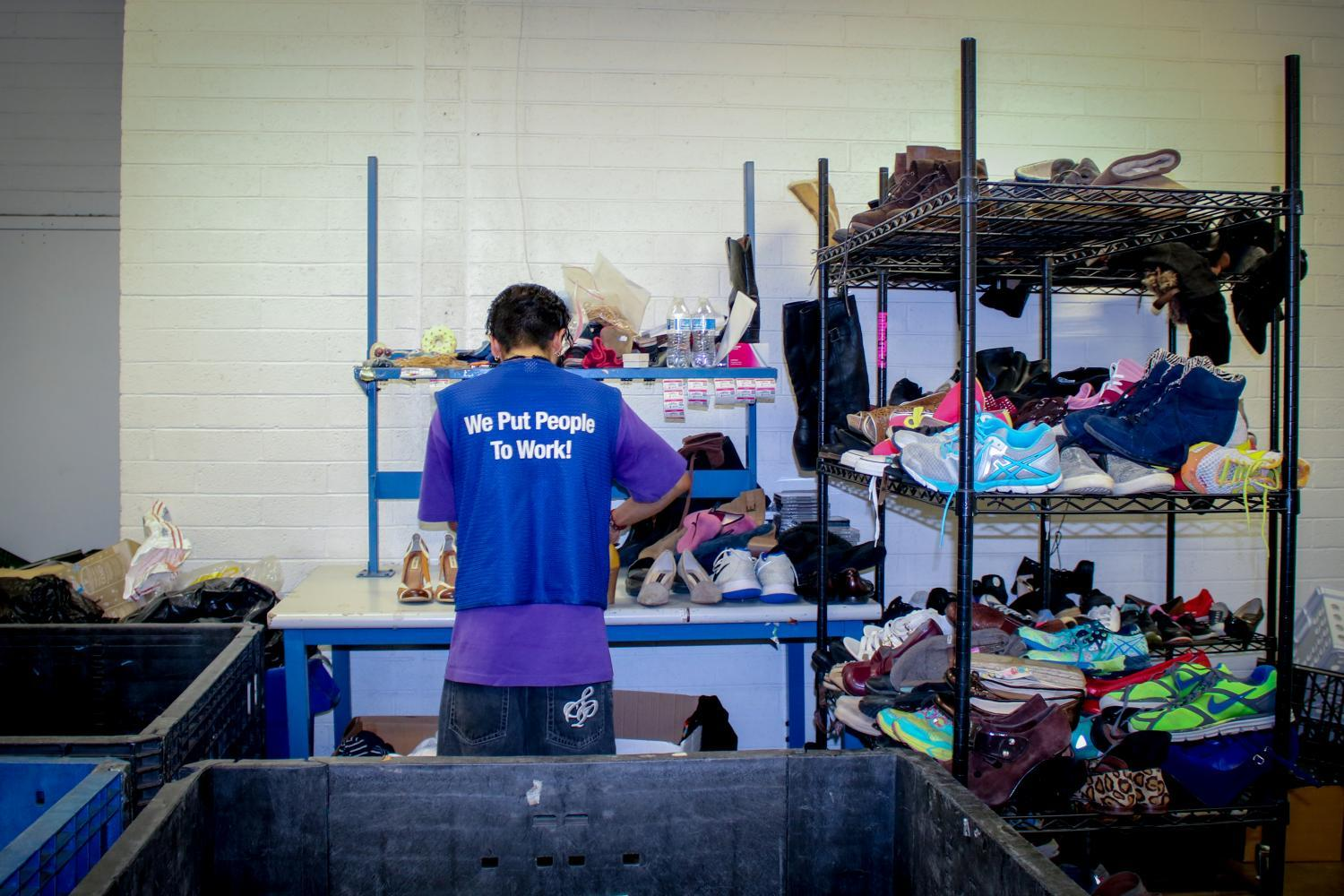 There are 115 Goodwill stores in Arizona and in 2017 made over $143,000,000 from the resale of donated goods.
