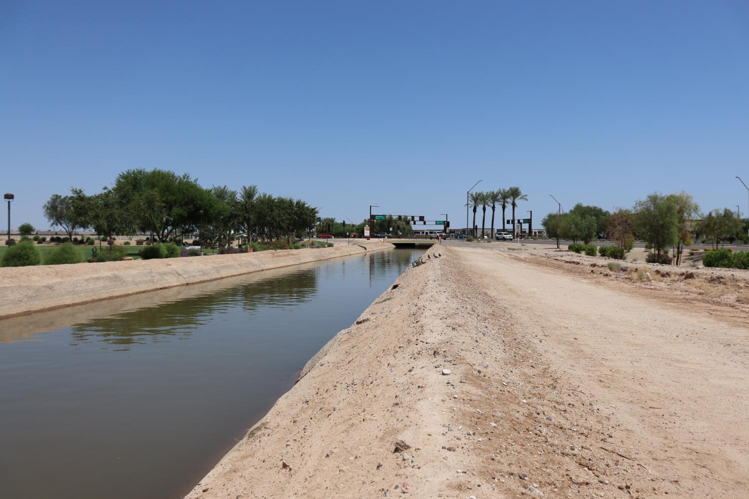 A canal in Goodyear