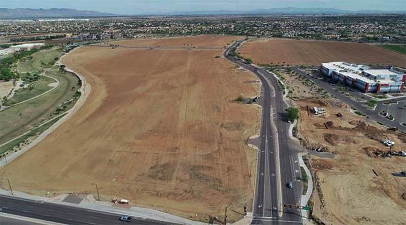 Future home of Goodyear civic complex