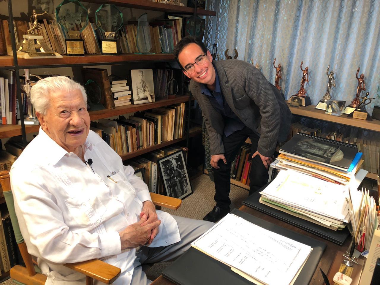 Producer Guillermo Wiechers