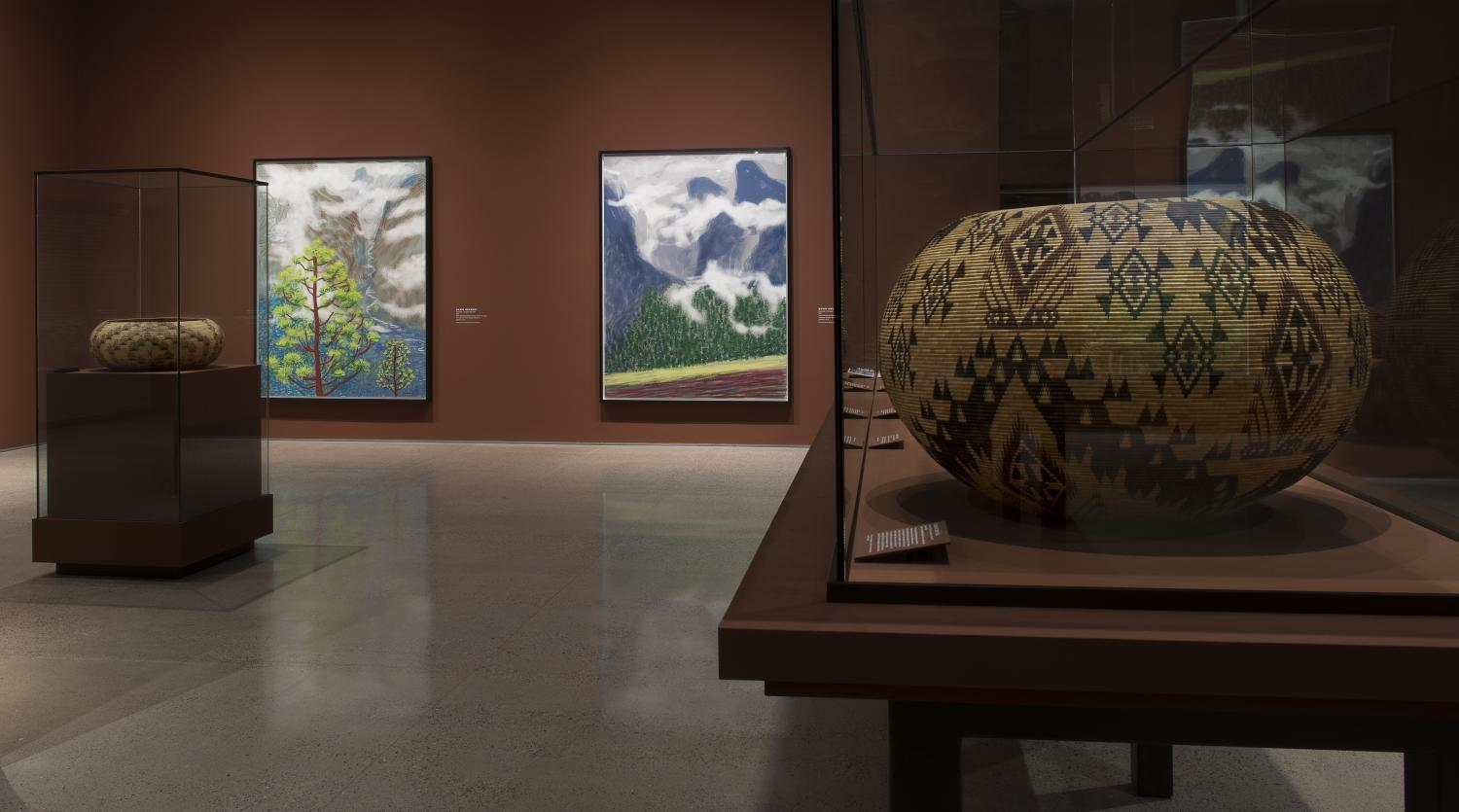 Hockney Heard Museum Exhibit