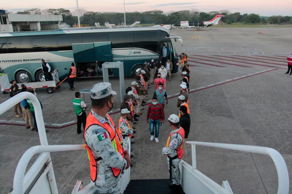 Mexican immigration sends Honduran migrants home