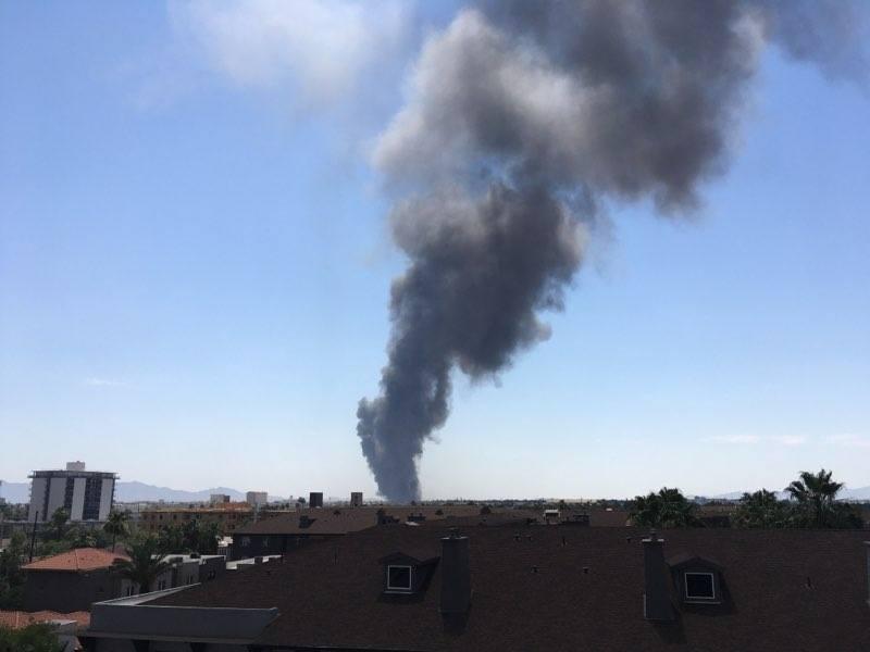 Downtown Phoenix fire
