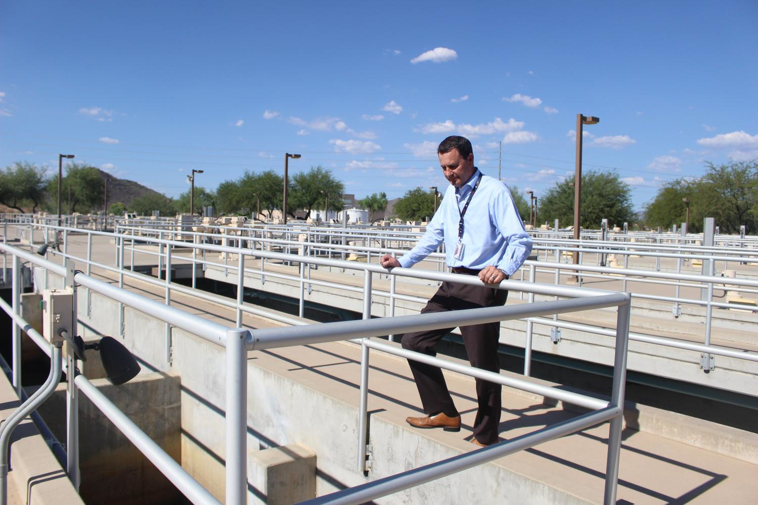 Troy Hayes of Phoenix Water Services Department