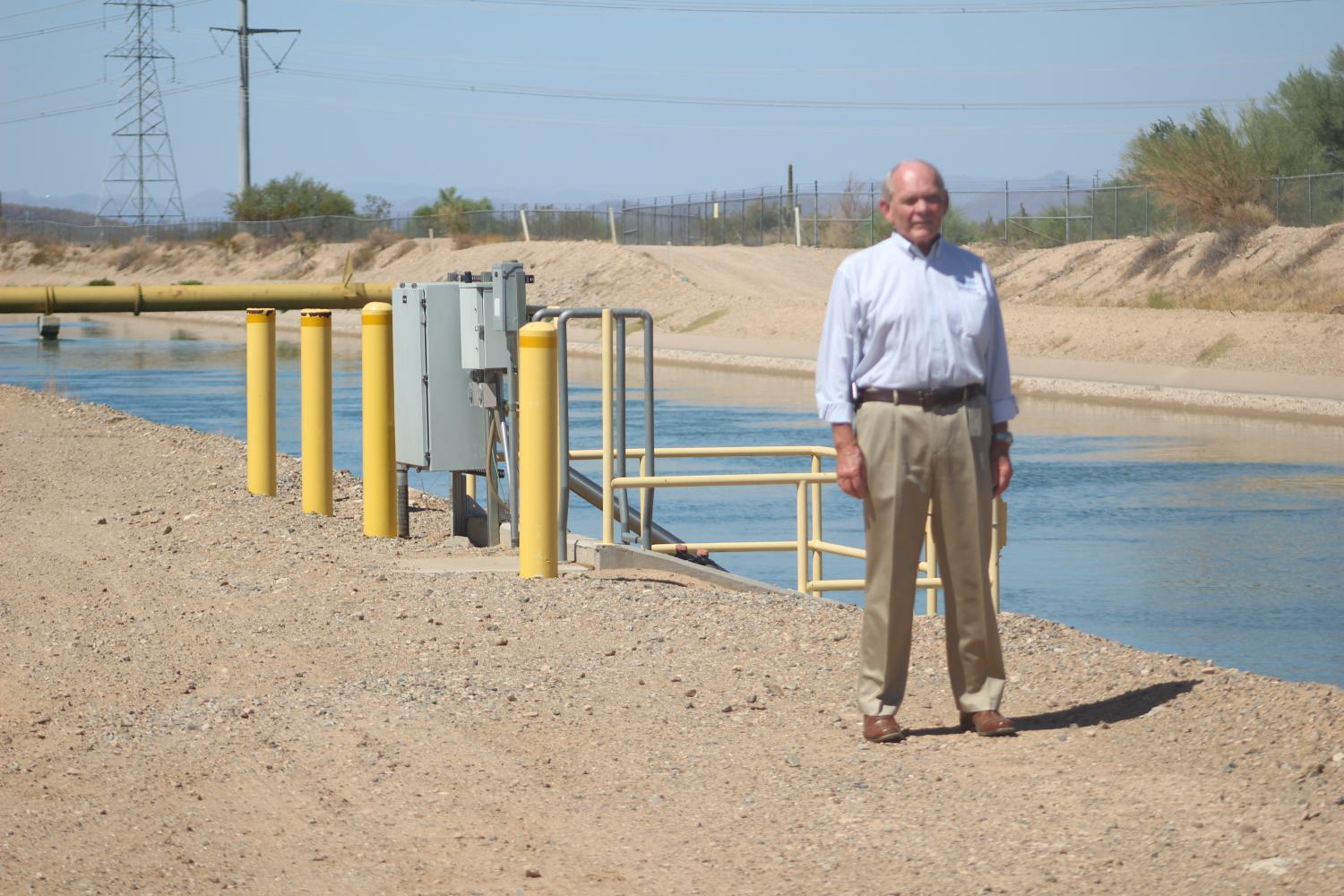 John Harrison has worked on the Central Arizona Project for over 50 years.