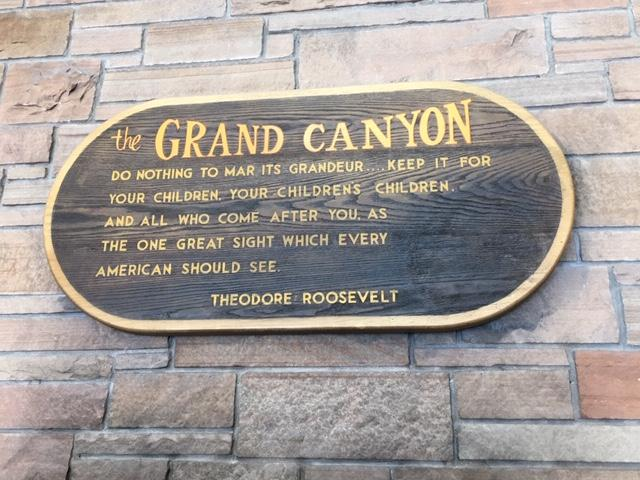Roosevelt Grand Canyon
