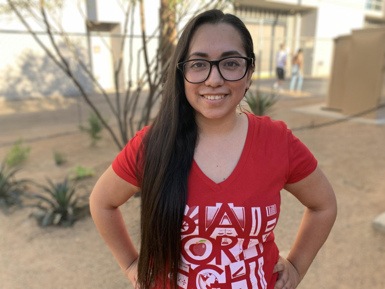 Mesa teacher Lupita Almanza