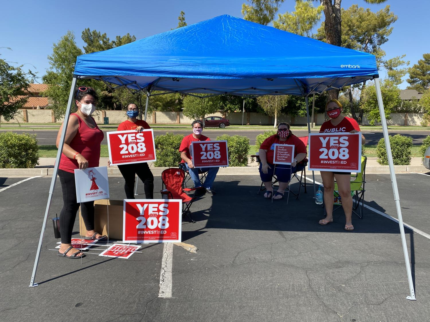 Prop 208 Volunteers