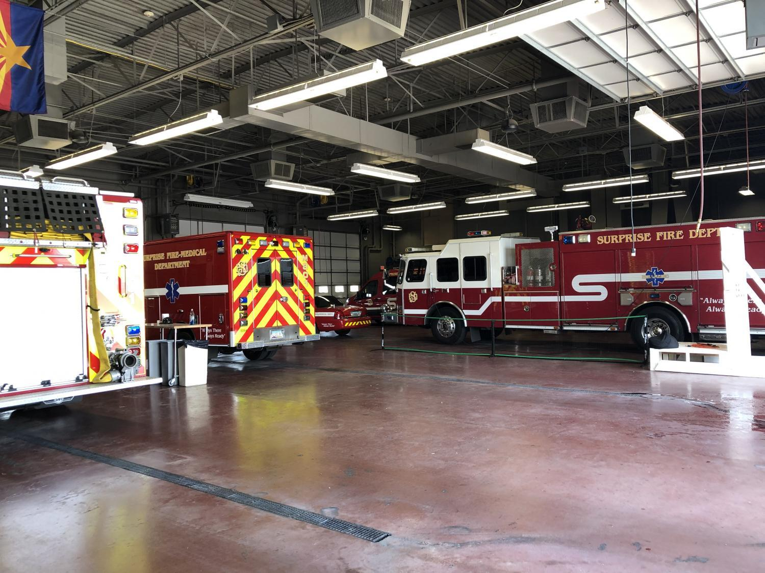 Fire Station 301 in Surprise