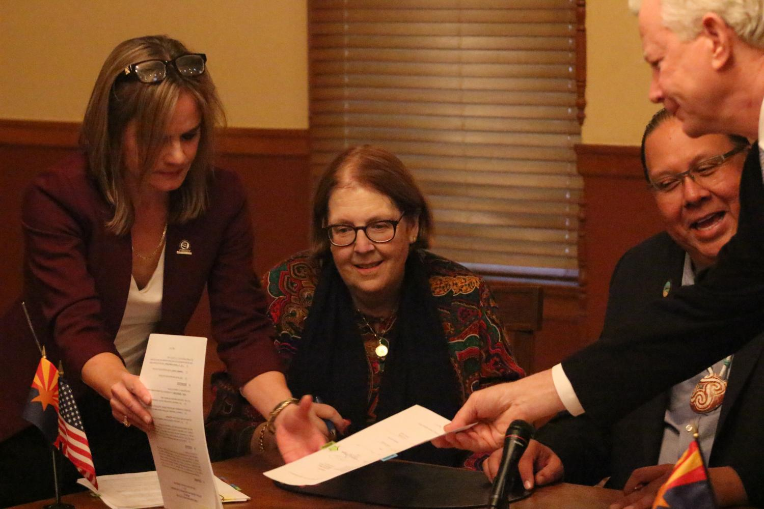 The Gila River Indian Community signed a water deal in January with the CAGRD.