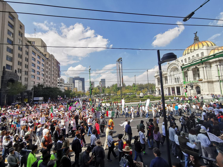 Mexico City rally