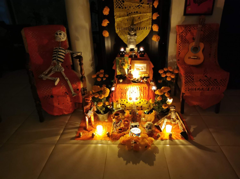 Ofrenda candles